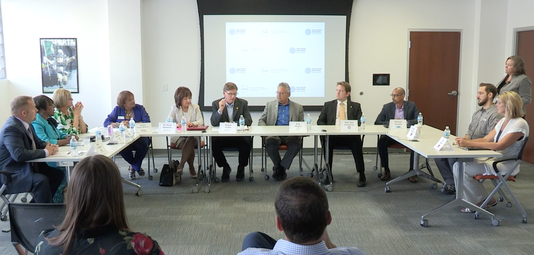 "Watch highlights of the Michigan Executive Roundtable on ""Winning the War on Talent."""