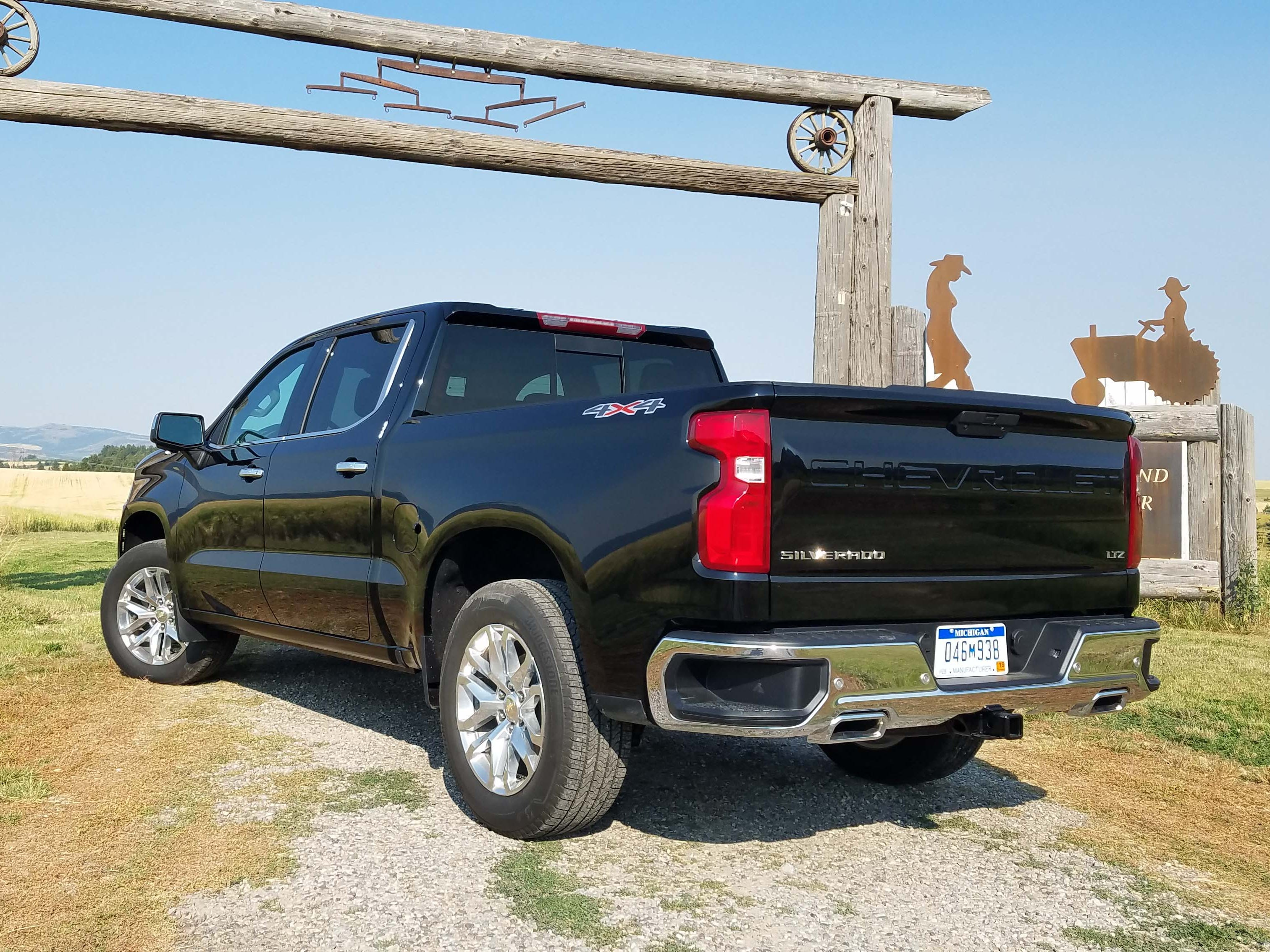 The 2019 Chevy Silverado is new from the ground up with a light-weighted chassis, more trailering capability, and V-8 engines that run on one cylinder when necessary to reduce fuel consumption.