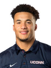 Eli Thomas is a red-shirt junior for the UConn football team.