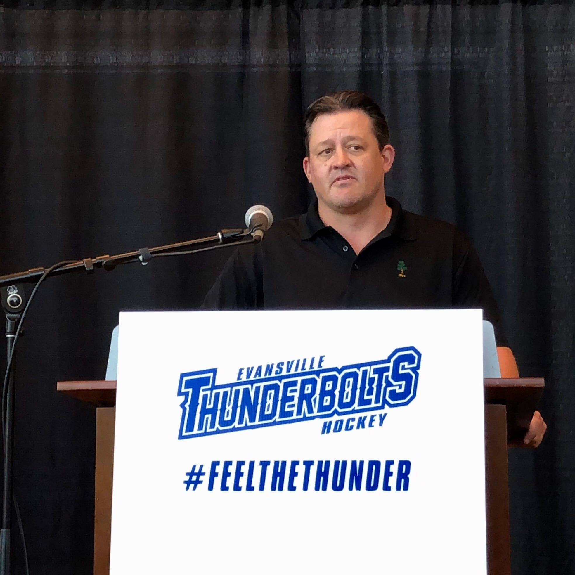 Evansville Thunderbolts head coach Ian Moran resigns