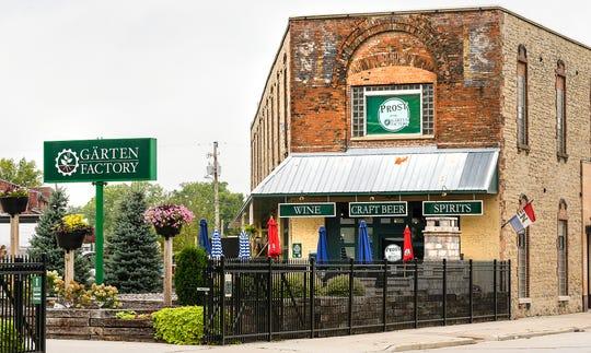 The Garten Factory at 24 S. Brooke St. in the city of Fond du Lac, Wis. Tuesday, August 28, 2018. The garden center and Prost will be open until Sept. 30.