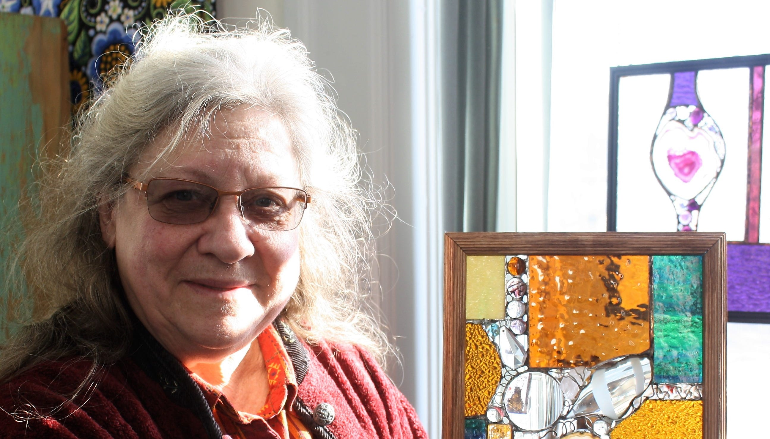 Artist Marquart to teach stained glass class in Green Lake
