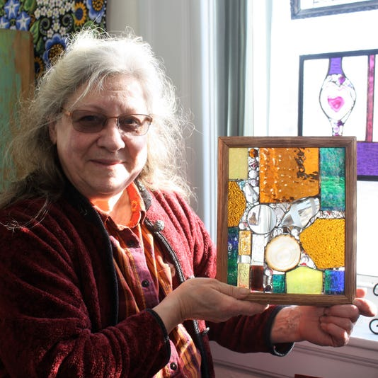 Artist Donna Marquart Is Well Known For Incorporating Found Objects Into Her Glass Work