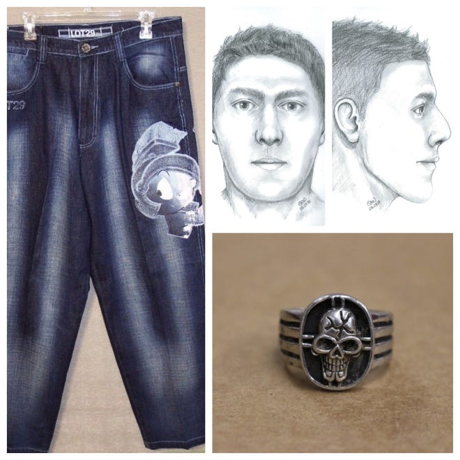 The Lee County Sheriff's Office is looking for help in identifying the skeletal remains of a man found in 2017. An artists's conception of how the man may have looked was provided by the sheriff's office as well a photo of az ring and a pair of jeans similar to those worn by the decedent.