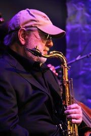 Saxophonist Lew Del Gatto