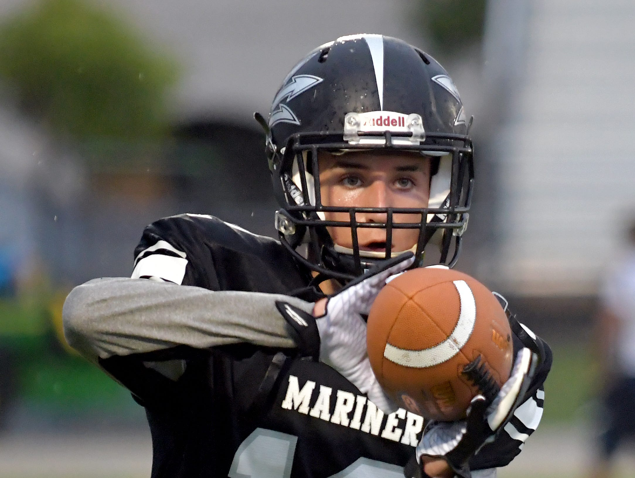 The Mariner Tritons host Estero Wildcats in a Monday night match up at Mariner High School in Cape Coral Monday, Aug. 27, 2018.