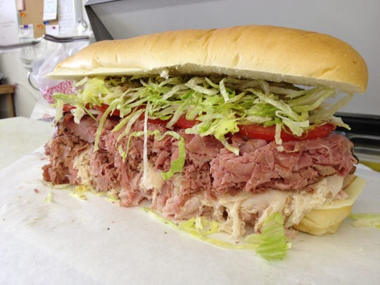 The Big Mama from Stan's Super Subs in Bonita Springs.