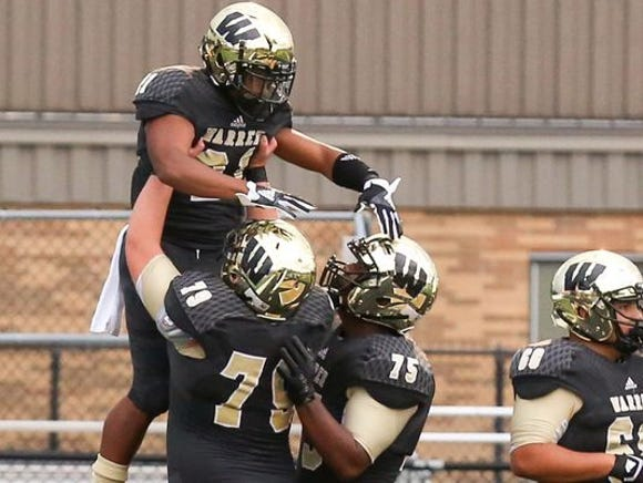 Warren Central is No. 1 in Class 6A this week.