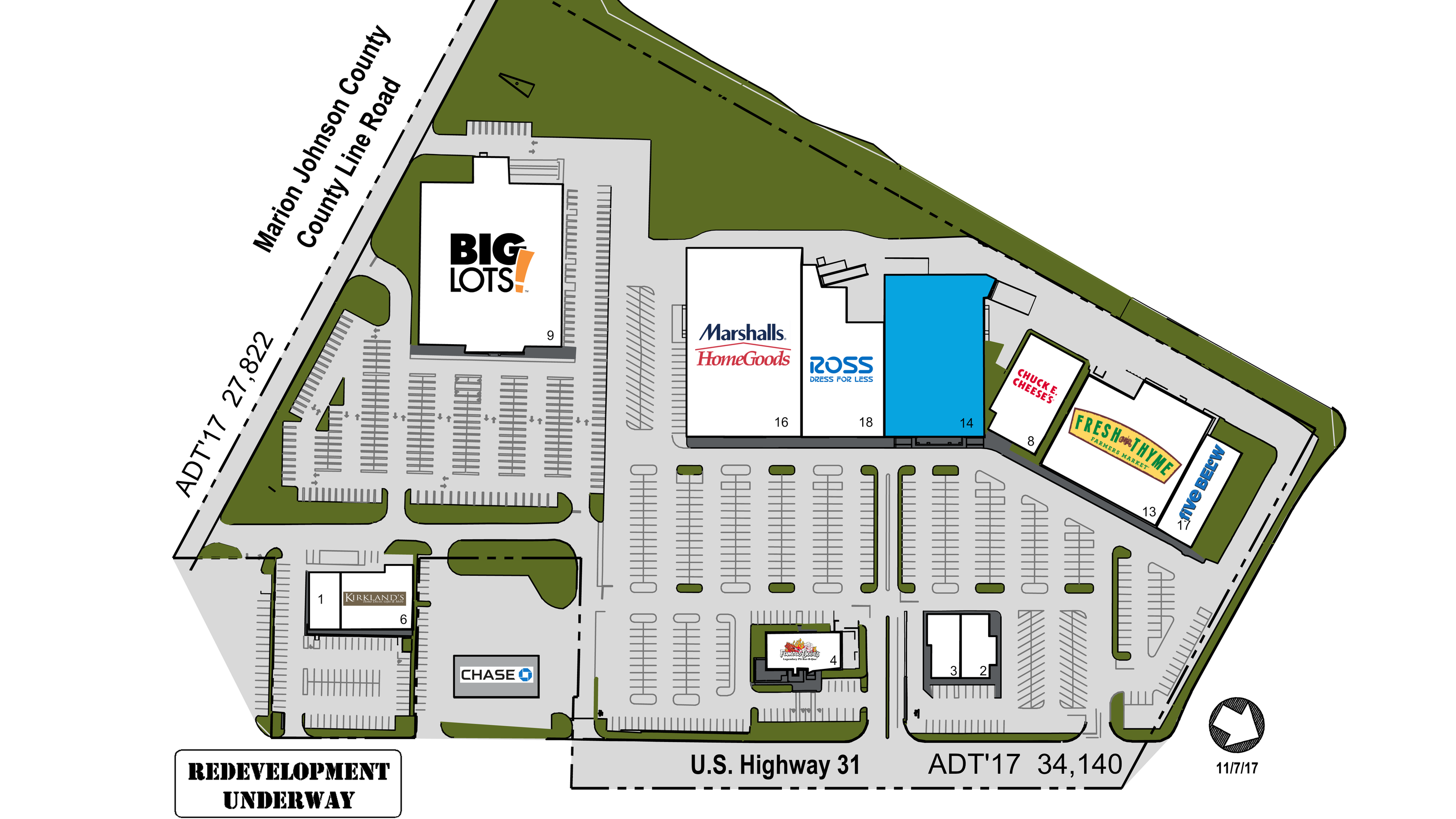 HomeGoods, Five Below, Marshalls, more coming to Greenwood, Indiana
