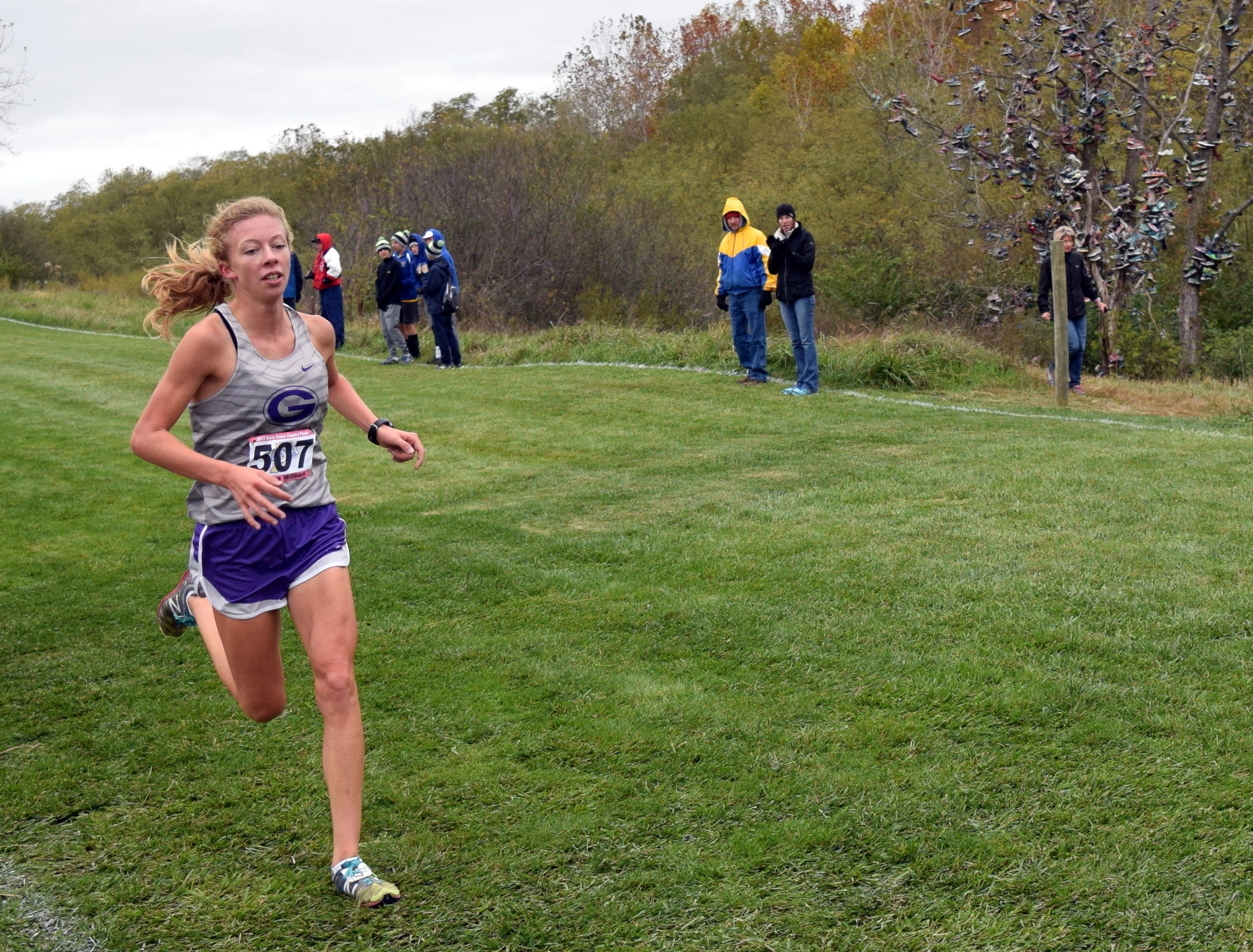Emma Wilson is the girls cross country athlete of the week.