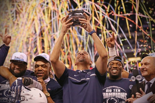 In the past five years, the Big Ten champion has come from the East division, including Penn State last season.