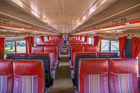 A look inside the Nickel Plate Express. The train will depart from Atlanta, Indiana and feature tours of countryside Indiana starting Sept. 15, 2018. The train is a1956 diesel locomotive originally built for the Erie Mining Company.