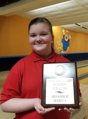 Jaelynn Lansdowne has earned a scholarship given by the United States Bowling Congress.