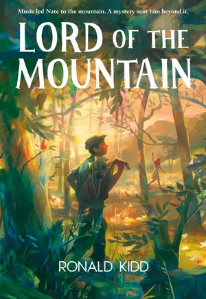 "Ronald Kidd's middle-grade historical novel ""Lord of the Mountain"""