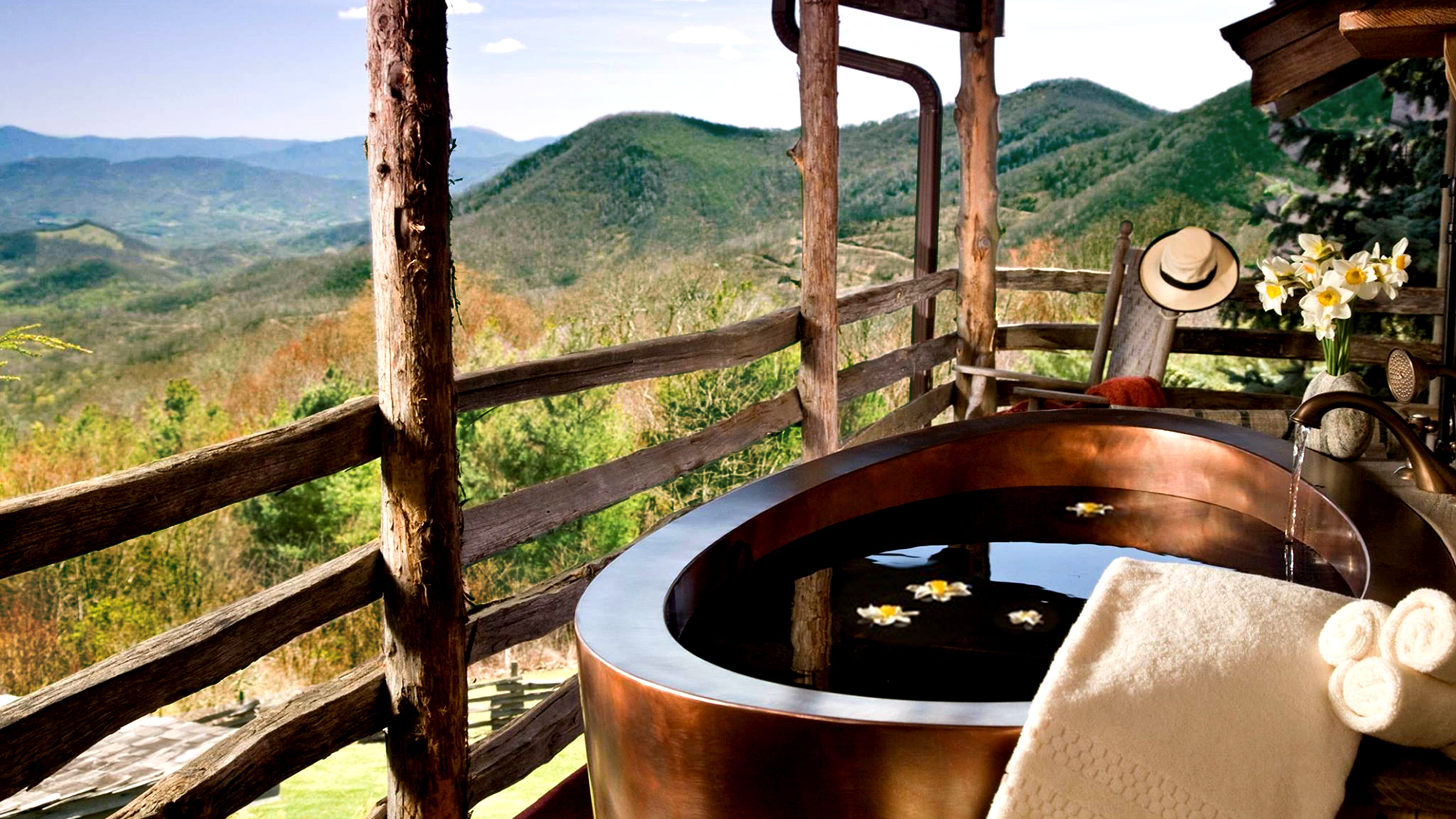 smoky mountains resorts: the swag, named top 10 travel and leisure