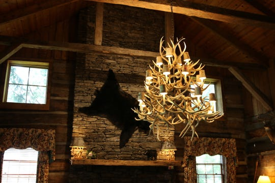The Swag is a luxury mountain resort in Waynesville, North Carolina and is owned by Knoxville couple David and Annie Colquitt.