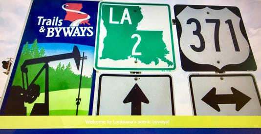 Byways Sign