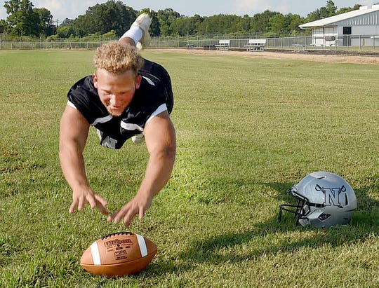 Northwest High linebacker Cameron Guillory is a three-year starter at linebacker for the Raiders.