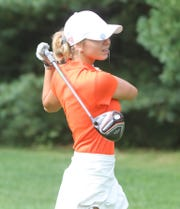 Maggie Pietila of Brighton got off to a good start, winning the KLAA preseason tournament.