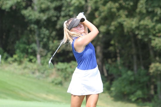 Hartland's Sydney Bradford set the school record with a 72 in the Hartland Invitational.