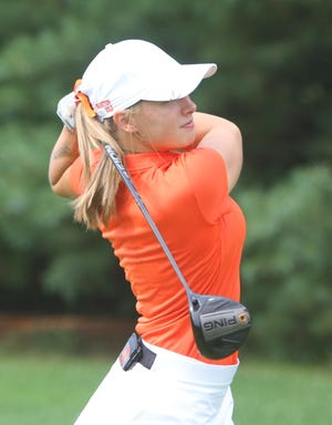 Brighton senior Annie Pietila is a two-time all-state golfer.