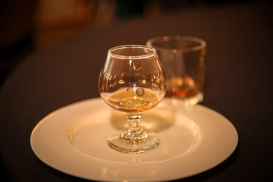 Bourbon tasting during Bourbon Women's fifth annual Sip-osium in Louisville.