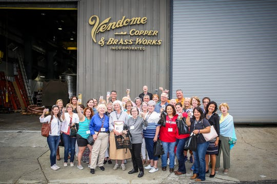 Bourbon Women at Vendome Copper & Brassworks in Louisville