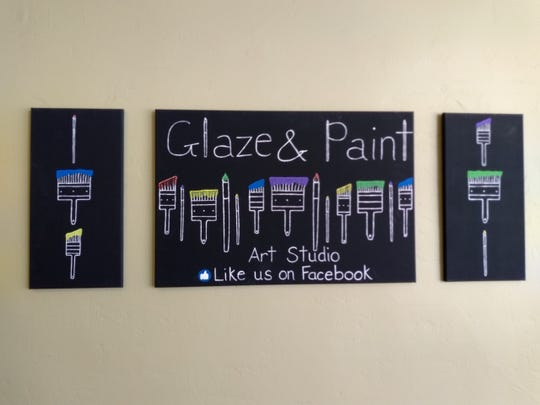 Glaze and Paint is at 909 Washington St. in downtown Manitowoc.