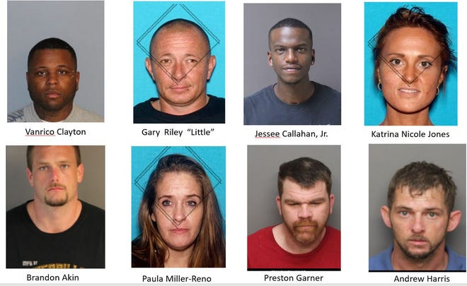 Seventeen people have been indicted as part of a methamphetamine organization  following an 18-month investigation by the Shelby County Sheriff's Office Narcotics Division.