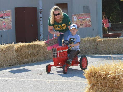 There are lots of kid-friendly activities at the annual Harvest Fair at State Fair Park.