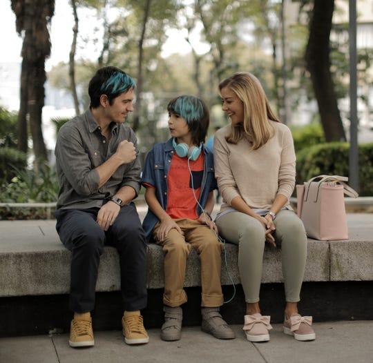 "Mauricio Ochmann (from left), Emiliano Aramayo and Fernanda Castillo star in the Mexican-made comedy ""Ya Veremos."""