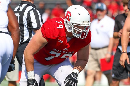 Zack Heeman of Mount Olive is a Rutgers senior offensive lineman.