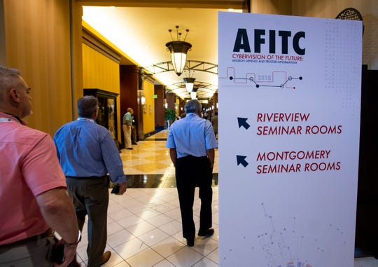 The AFITC conference is held at the Renaissance Hotel and Spa at the Convention Center in Montgomery, Ala., on Tuesday August 28, 2018.