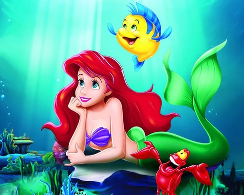 Dont Be Like Triton Become A Part Of Your Little Mermaids World