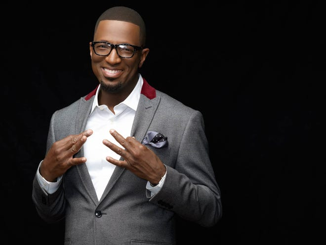 Rickey Smiley is coming to the Montgomery Performing Arts Centre on Friday.