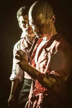 "Jared Reinfeldt and Euriamis Losada is Studio Tenn's production of ""Frankenstein."""