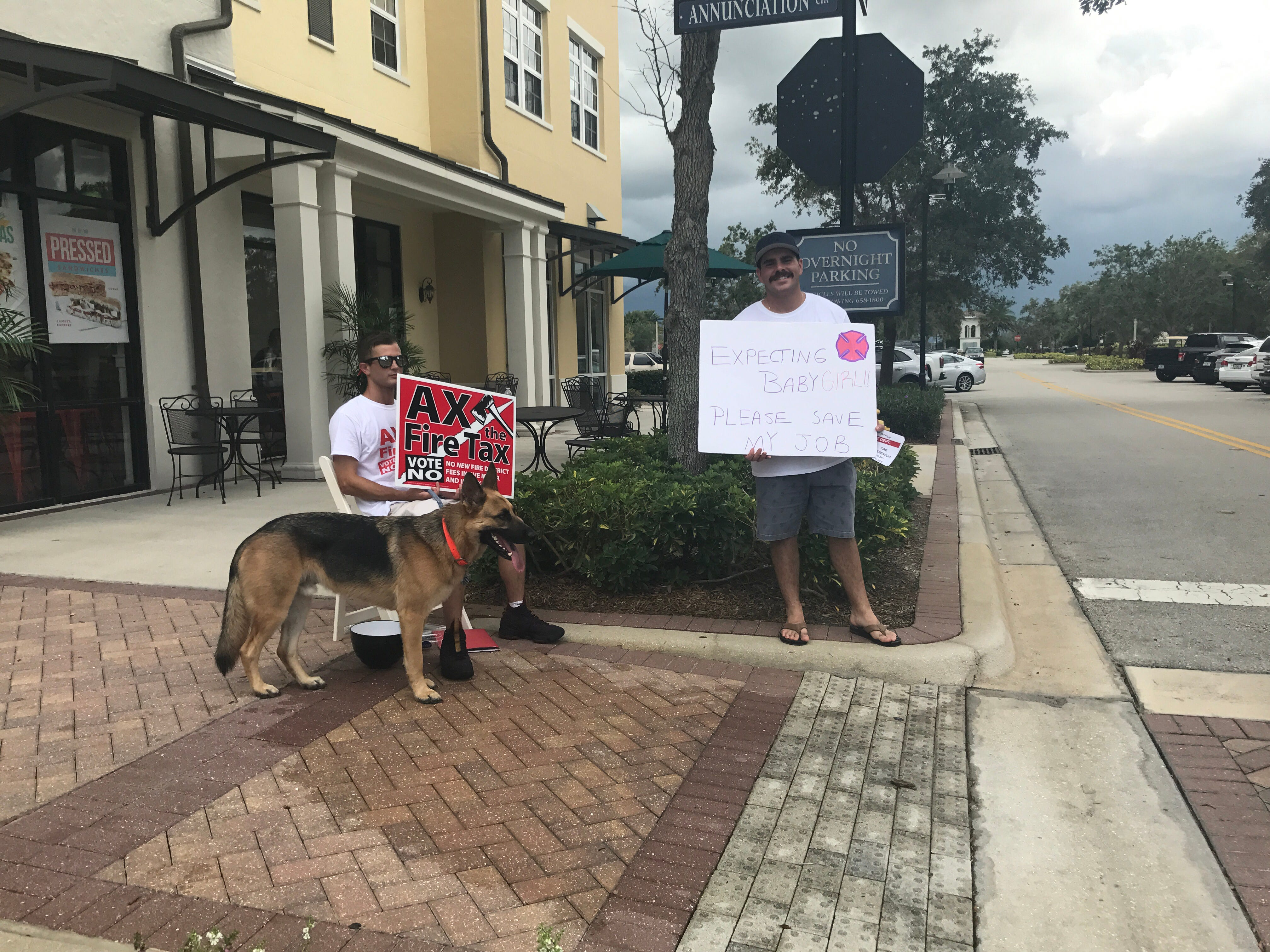 People show up to the polls Tuesday, Aug. 28, 2018 to support the Immokalee Fire Control District 's fire fee referendum.