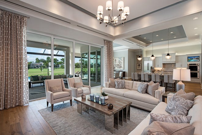 Clive Daniel has completed the interior design for this Frank Jenkins' home in Gulf Harbour.