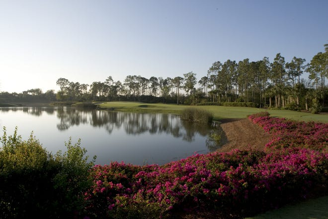 London Bay's Mediterra community on Livingston Road showcases two distinctly different golf courses designed by Tom Fazio.