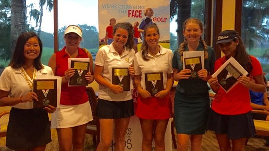 The LPGA/USGA Girls Golf chapter recognized its season award winners on Saturday, Aug. 25, 2018, at Wildcat Run Golf & Country Club in Estero.