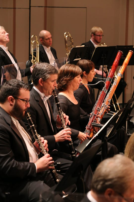 Woodwinds of the Naples Philharmonic