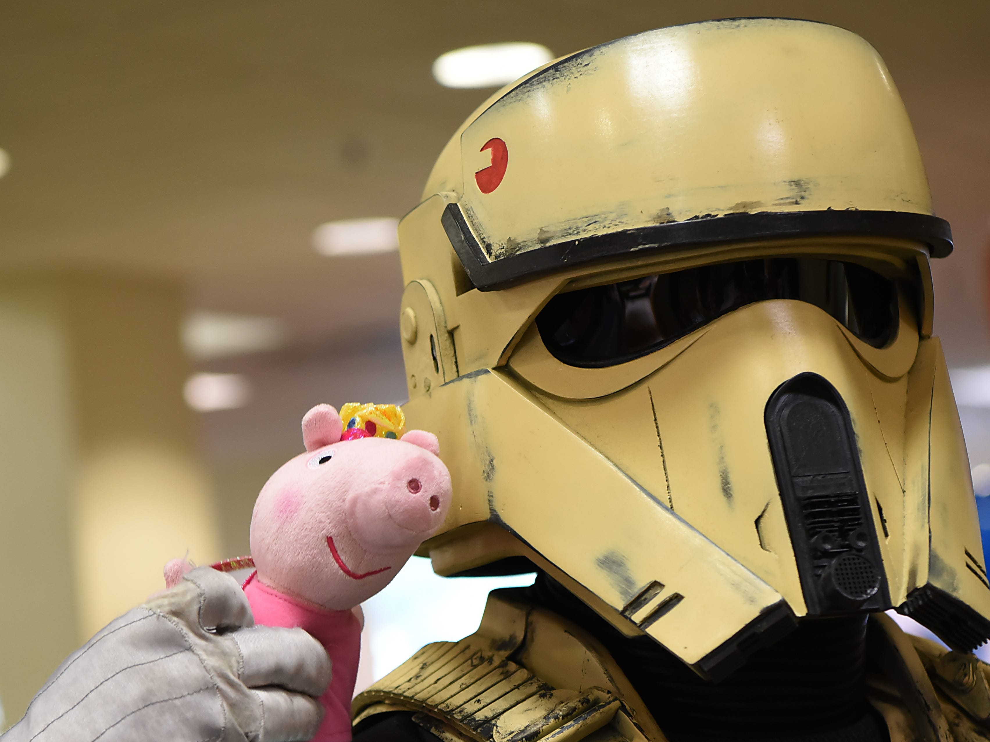 Star Wars cosplayers at the Comic-Con Comes to Bergenfield Public Library in Bergenfield on Saturday August 25, 2018. (Anne-Marie Caruso/@annemariecaruso)
