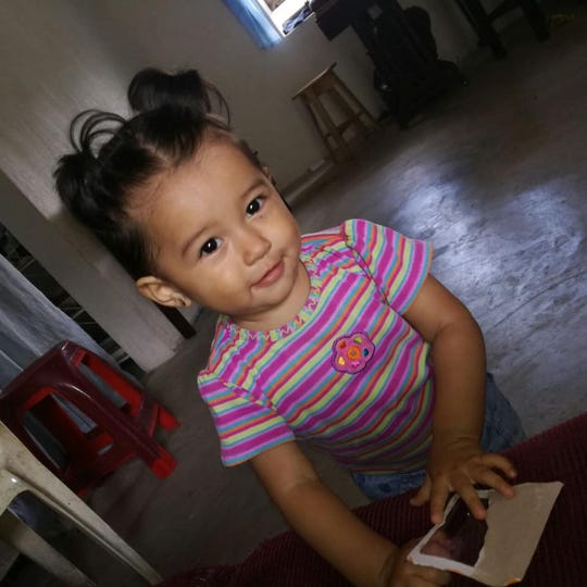 Nineteen-month-old Mariee Juarez was detained with her mother in March by immigration authorities at the Southwest border. Lawyers allege the infant died two months later because of an illness contracted at the immigrant detention facility.