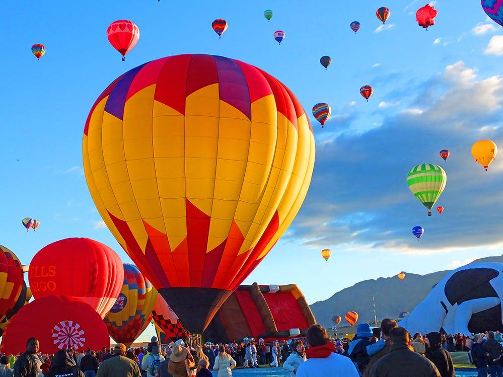 Balloon Festival in Albuquerque, New Mexico