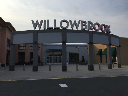 The entrance to Willowbrook Mall in Wayne.