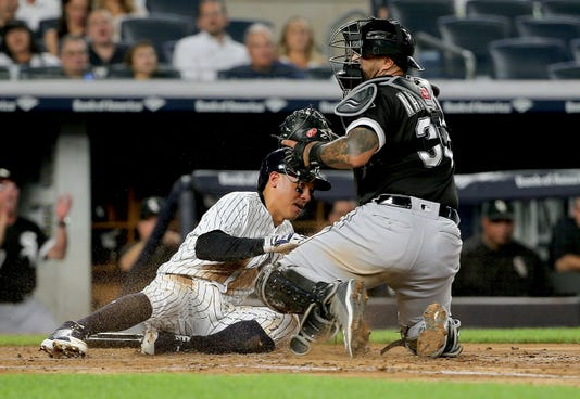 Mlb Chicago White Sox At New York Yankees