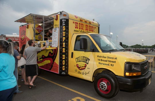 The Callahan's food truck brings hot dogs to street fairs and parties.