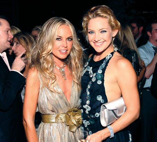 """NEW YORK - SEPTEMBER 04:  (L-R)Rachel Zoe and Kate Hudson attend  Bravo's """"The Rachel Zoe Project"""" series launch party at The Gramercy Park Hotel on September 4, 2008 in New York City.  (Photo by Donald Bowers/Getty Images)"""