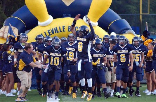 Belleville football stock photo