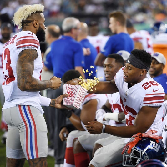NY Giants  Saquon Barkley top RB in NFL Pro Bowl fan voting e0a6c19d2